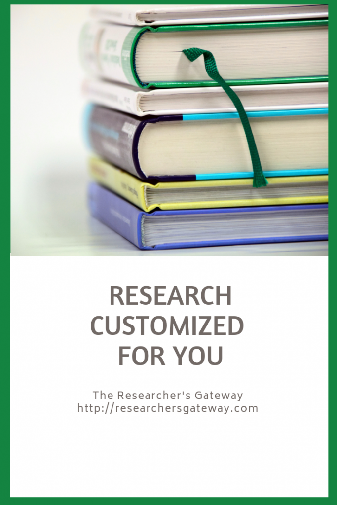 Research Customized for You
