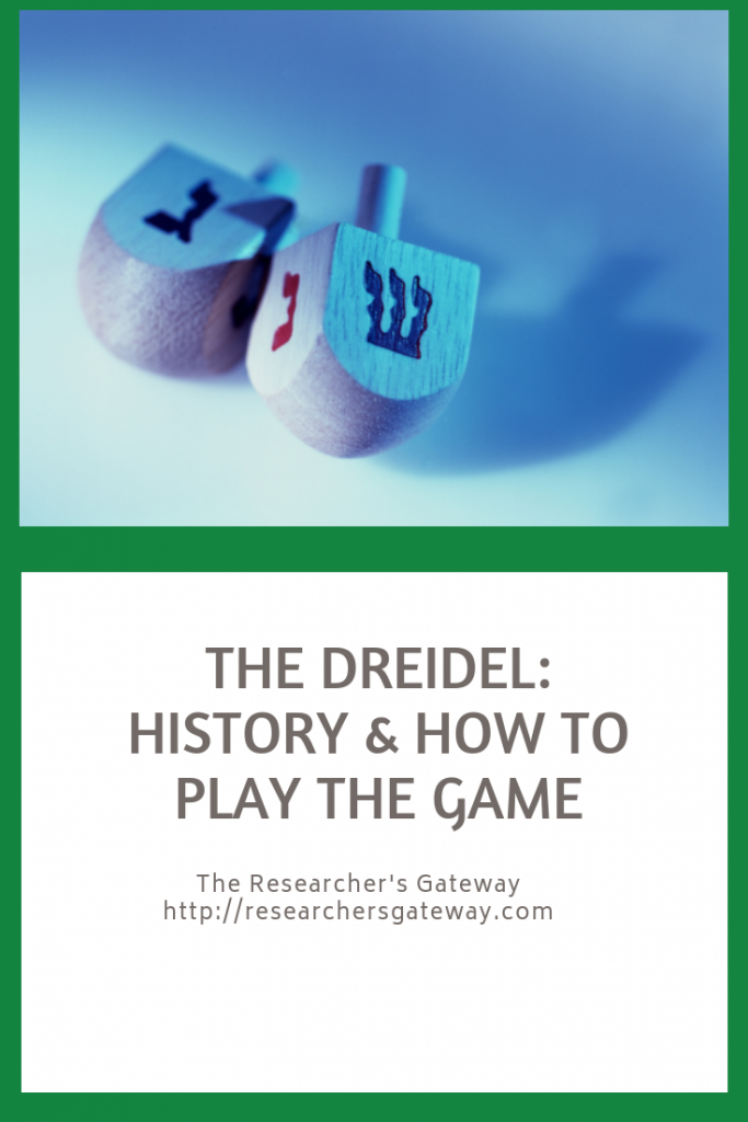 The Dreidel, History and How to play the game