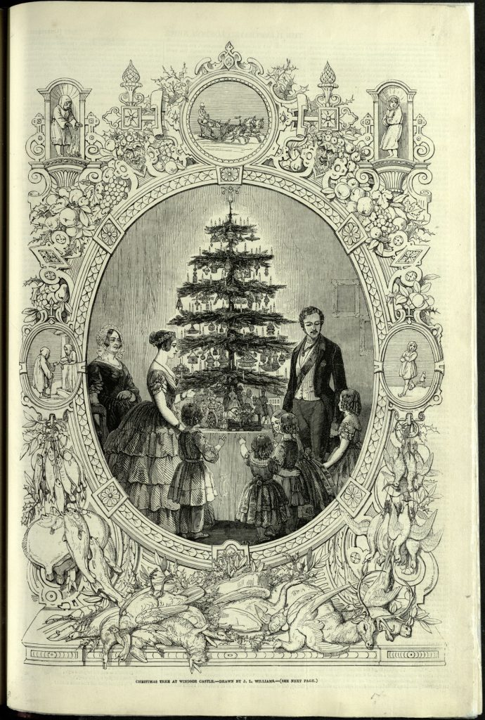 The Royal Family Christmas Tree, Queen Victoria