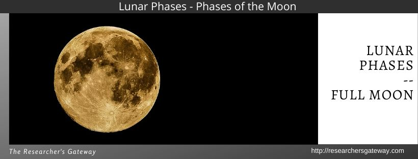 Lunar Phases - Full Moon