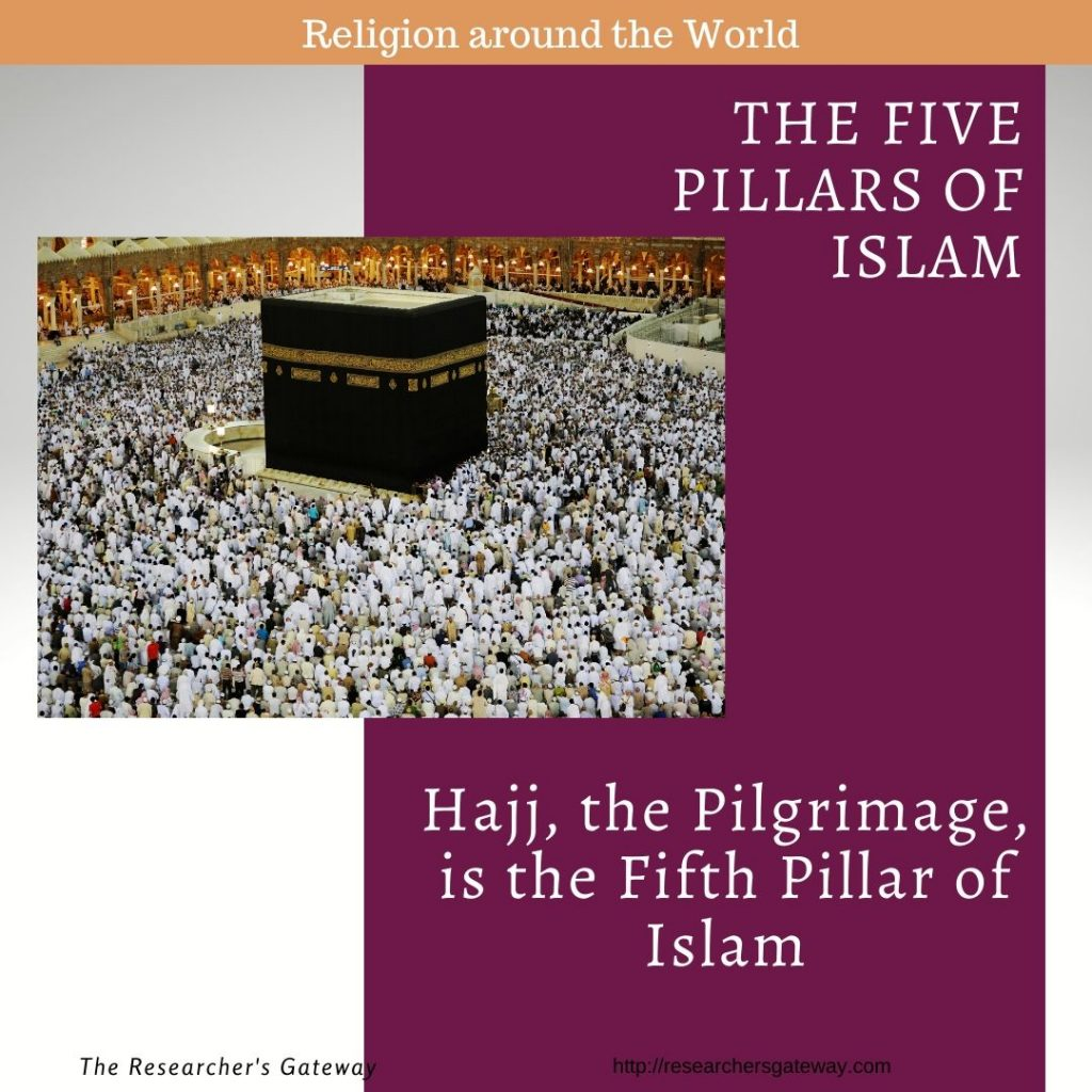 Hajj, the Pilgrimage, is the Fifth Pillar of Islam