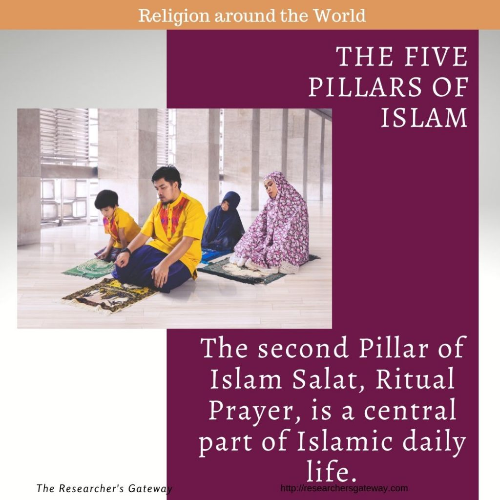 The second Pillar of Islam, Salat, Ritual Prayer, is a central part of Islamic daily life.