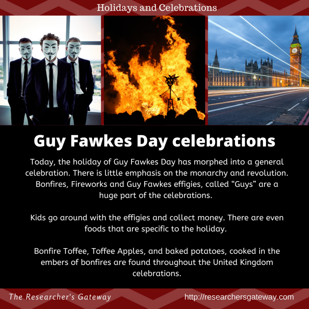 Guy Fawkes Day celebrations.