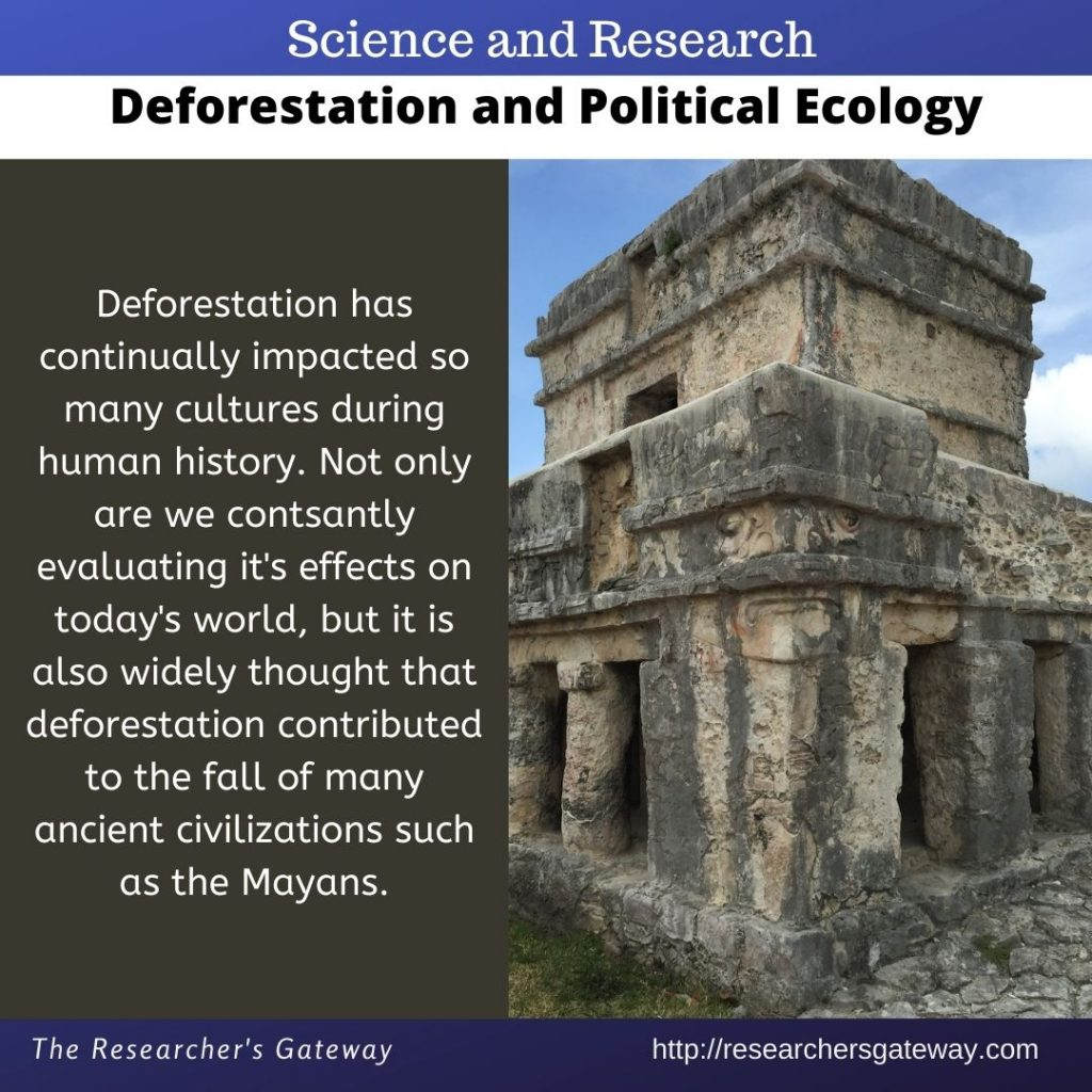 Deforestation - Political Ecology at The Researcher's Gateway
