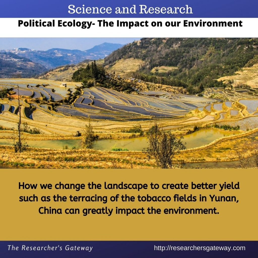 The Impact of Political Ecology on our Environment at The Researcher's Gateway
